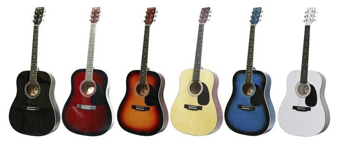 Phoenix 001 western gitaar goedkoop dreadnought melodi